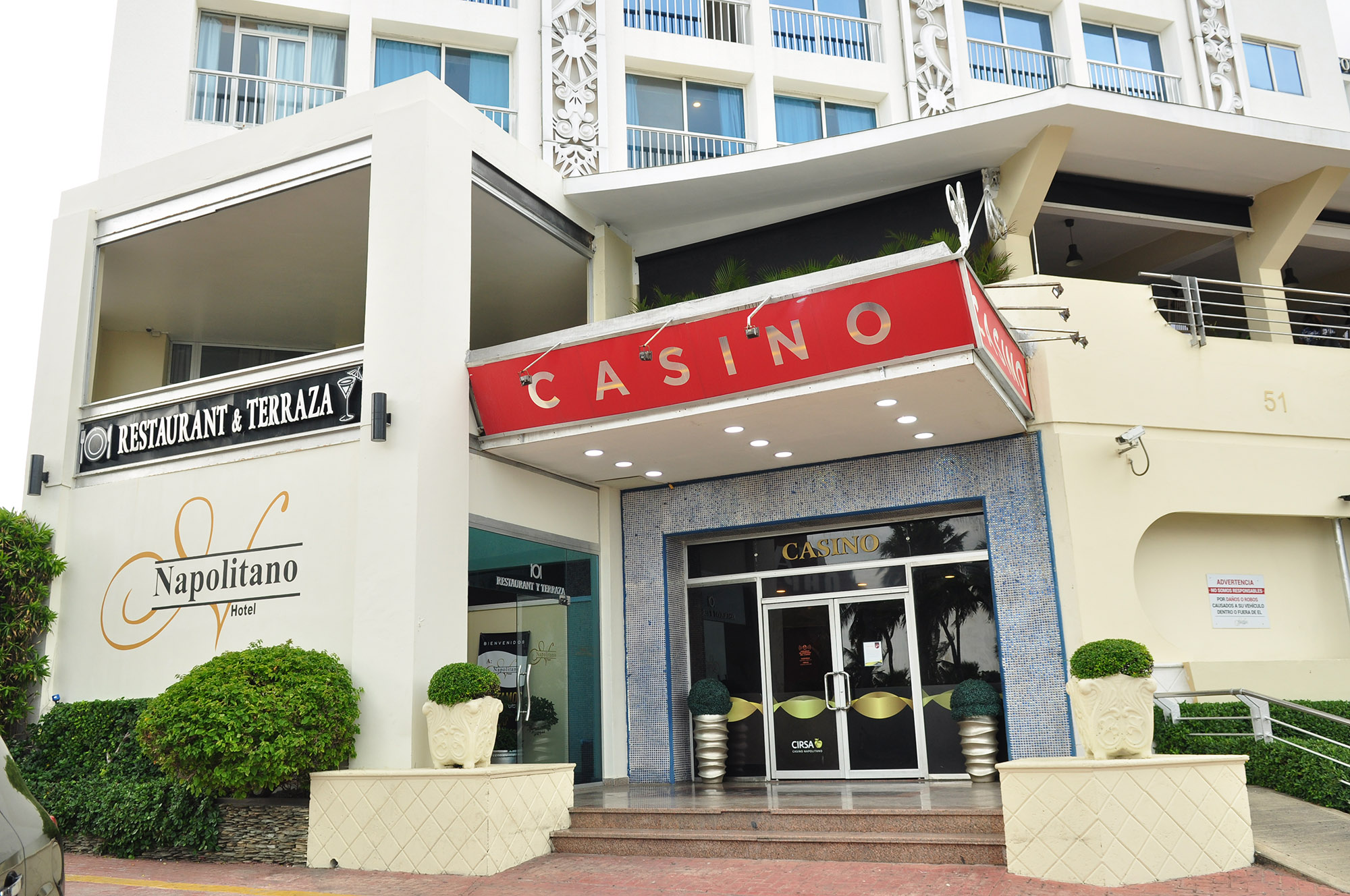 Casino Napolitano Exterior